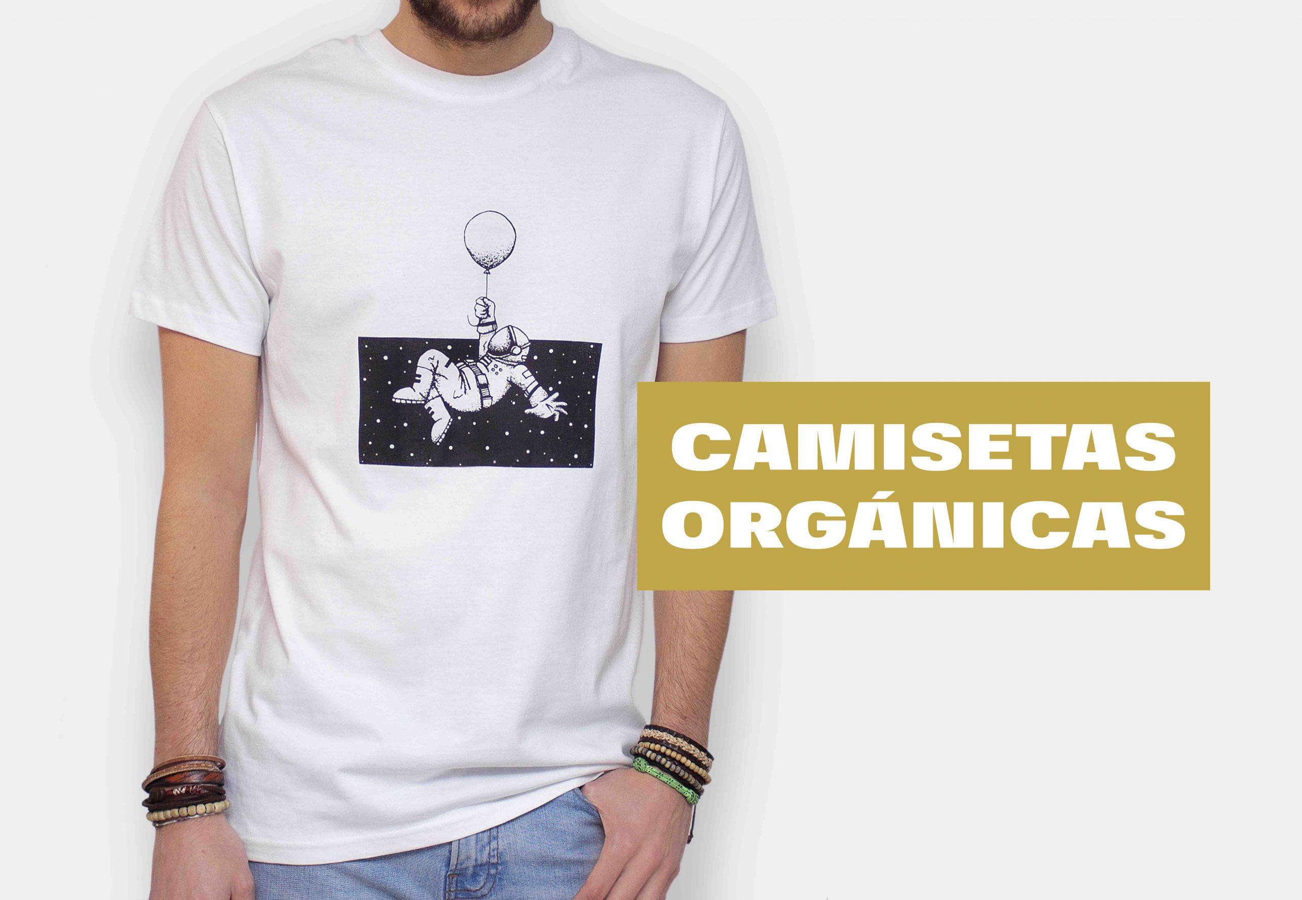 camisetas y sudaderas orgánicas con ilustraciones y serigrafia manual. Camisetas