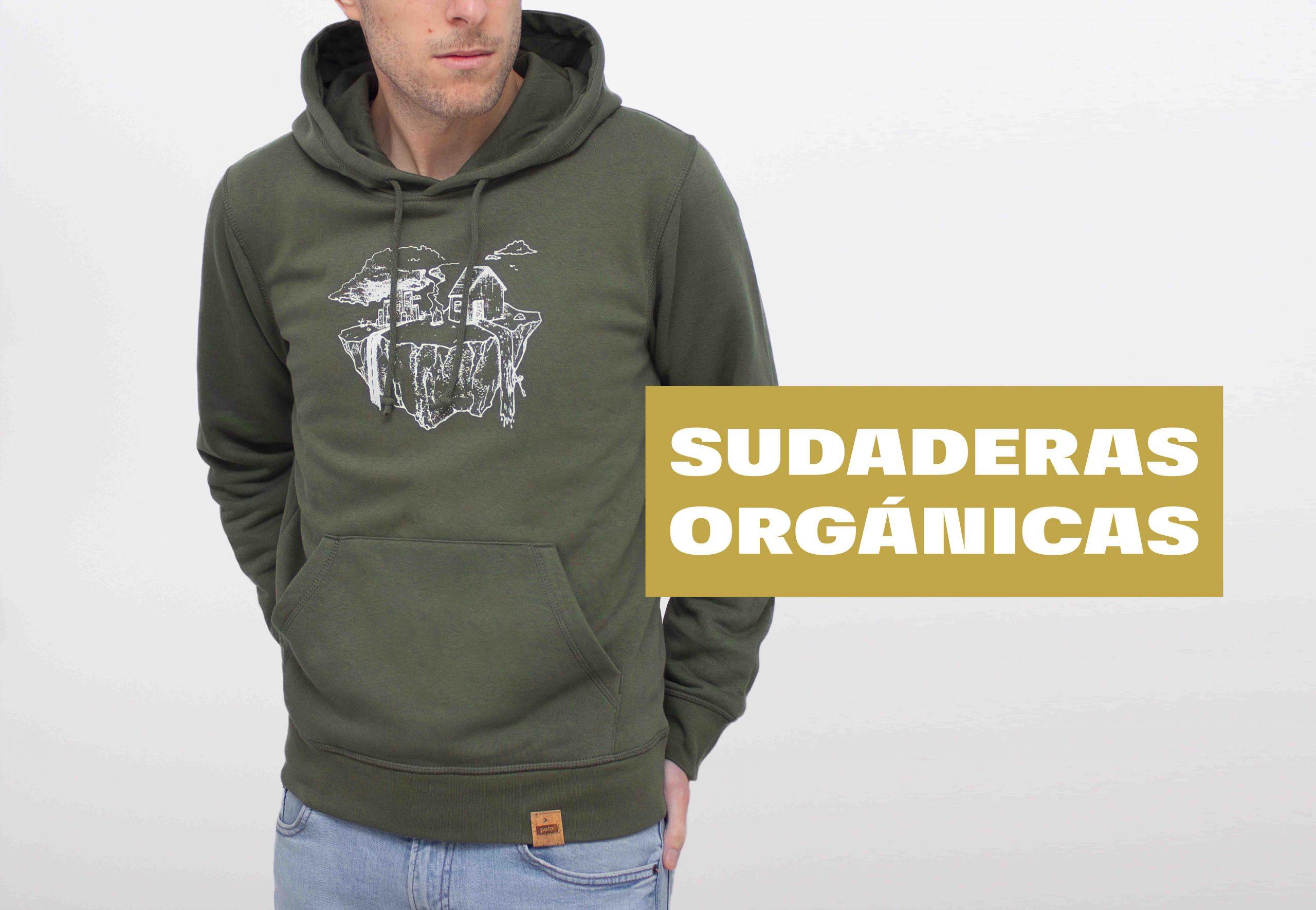 camisetas y sudaderas orgánicas con ilustraciones y serigrafia manual. Sudaderas