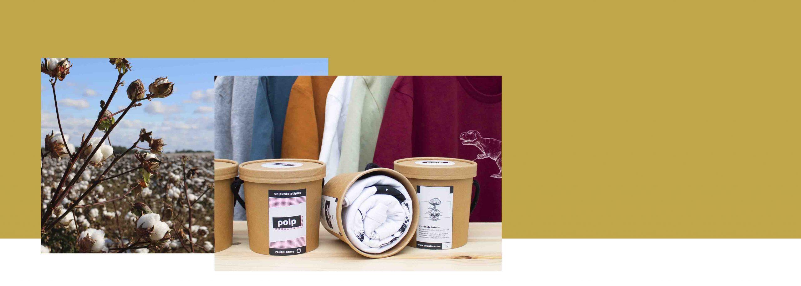 Camisetas y sudaderas orgánicas, hechas de algodón orgánico